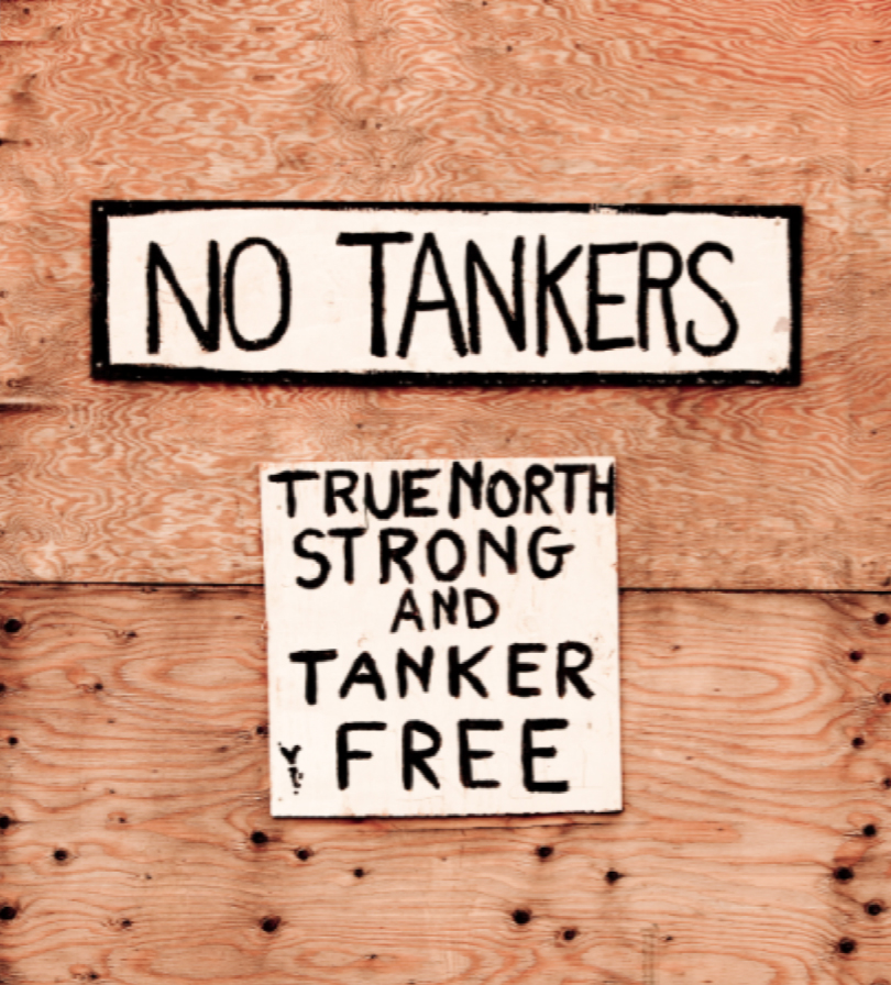 No Tankers Sign