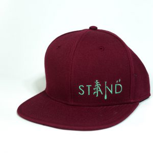 Stand Wooly Maroon