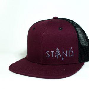 Stand Trucker Maroon