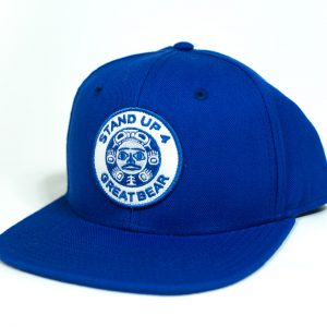 Standup4Greatbear Wool Hat Royal