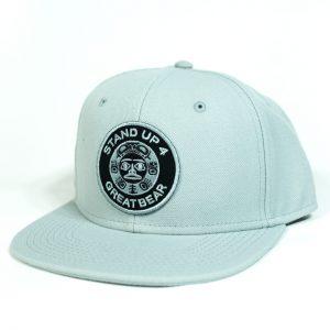 Standup4Greatbear Wool Hat Steel