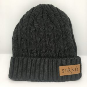 Stand Toque Charcoal